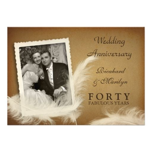 645 best 40th Anniversary Party Invitations images on Pinterest