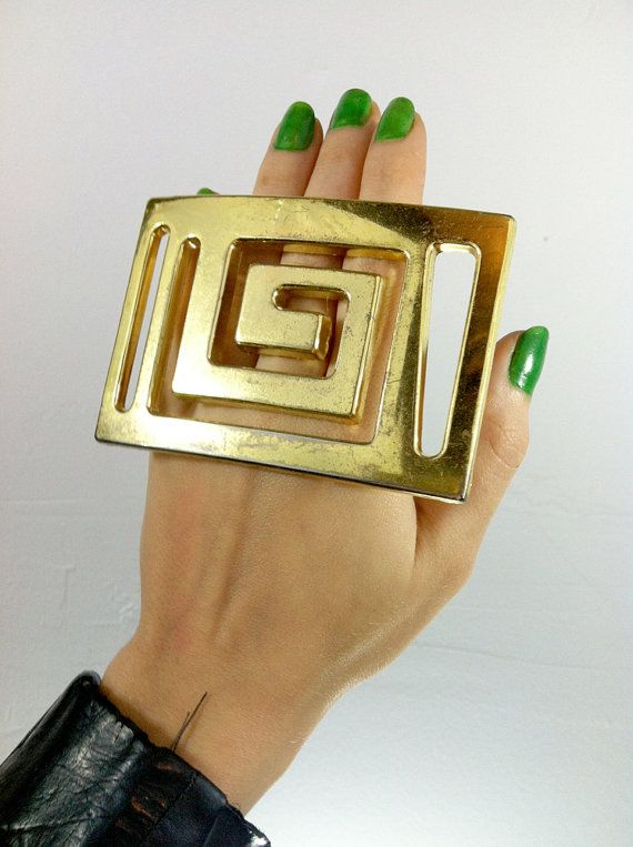 Oversized Handmade Plastic Costume Jewelry Ring OOAK by EatDaRich, $20.00