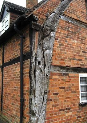 Cruck Timber frame - Handsworth Town Hall Museum, Birmingham UK