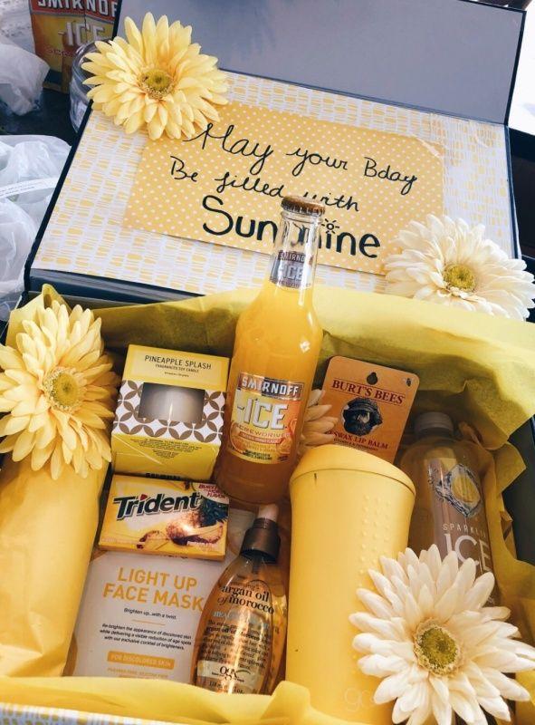 Vsco Vscovibess Sunshine Gift Unique Birthday Gifts Birthday Gifts For Best Friend