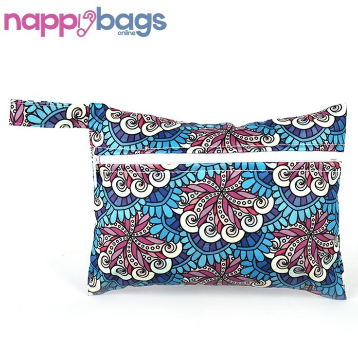 Vintage Floral Waterproof Nappy Wet Storage Bag //Price: $15.45 & FREE Shipping //     #nappybags