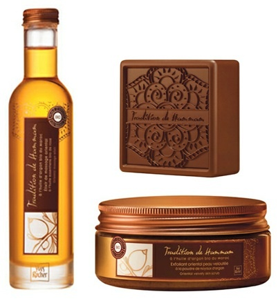 Spend the day at a Turkish bath house. Sort of. Yves Rocher Tradiiton de Hammam Collection