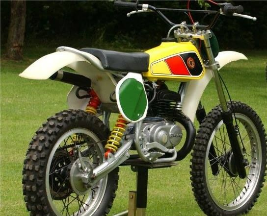bultaco pursang mx customized