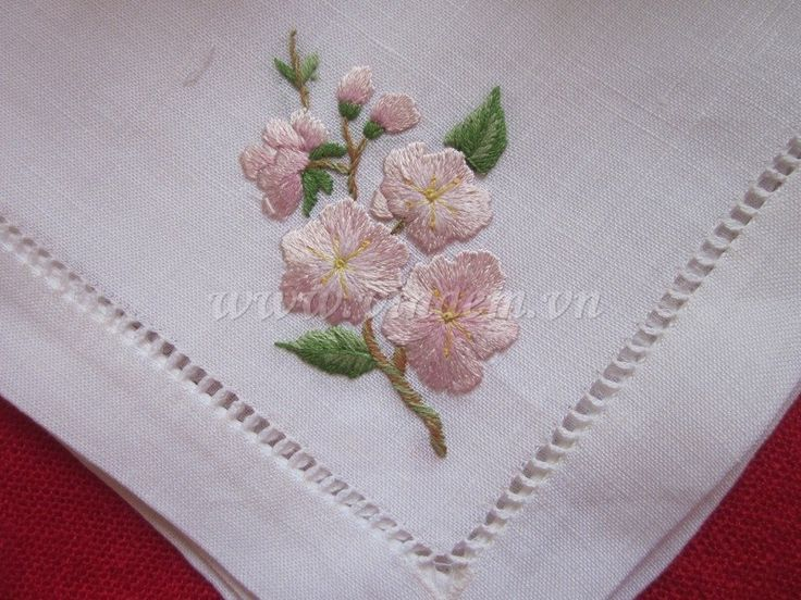 Vietnam hand embroidered and hemstitched napkin - dine in style! We are really impressed by the fine handiwork shown on the website in the Source below. You are encouraged to go there and request a quote for any of their products... Or you can take a look at a similar product on our Dining Room Furnishings blog at http://diningroomdecor.tropicalhouseplants.net/toms-ware-mimosa-yellow-flower-embroidery-placemat-napkin-set/