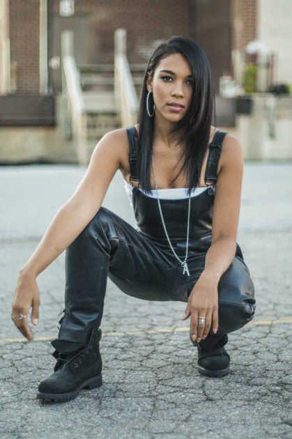 Alexandra Shipp as Aaliyah: First Look!