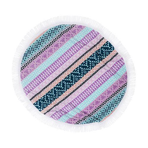 Circle Beach Towels Bohemain