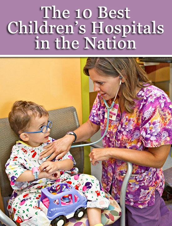 Parents' picks for the top 10 children's hospitals in the country: http://www.parents.com/health/doctors/best-childrens-hospitals/?socsrc=pmmpin130212pttBestKidsHospitals