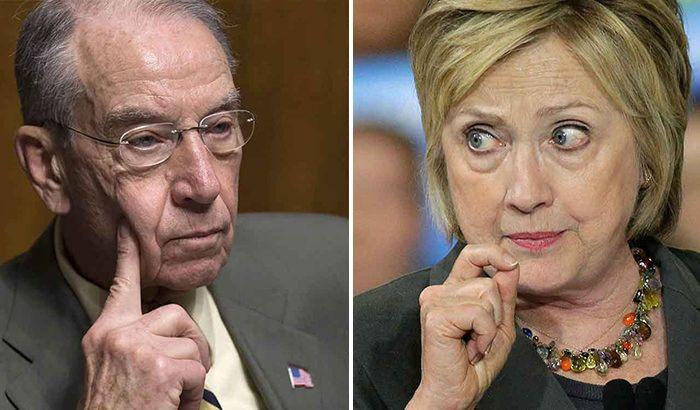 BREAKING: Sen. Chuck Grassley Opens Corruption Investigation Into Hillary Clinton