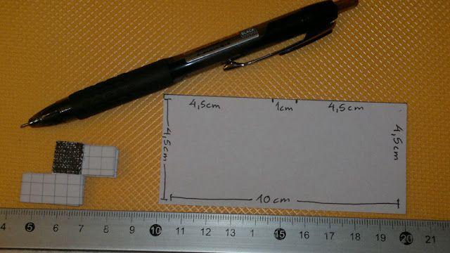 Papirflet tasker og andre smarte flettede ting: Skabelon til papriflette-led (candy wrapper led) m...