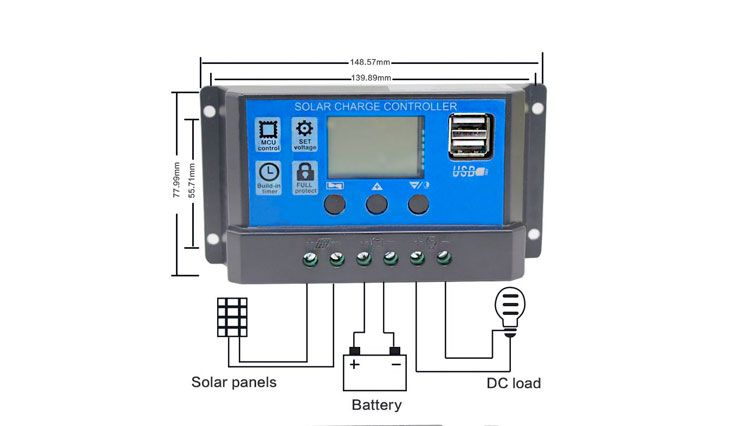 Top 10 Best Solar Charge Controllers For General Use In Review 2017 Control 10 Things Solar