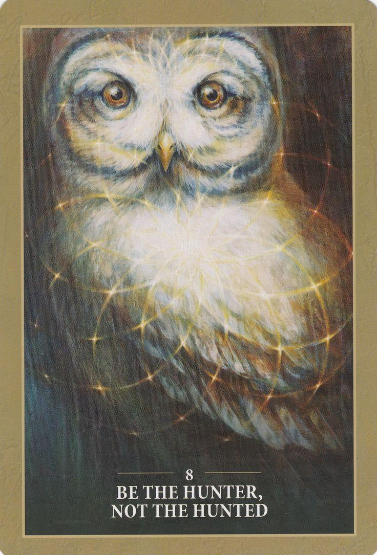 Owl greeting card set welsh artist jen delyth celtic art studio - Sacred Rebels Oracle