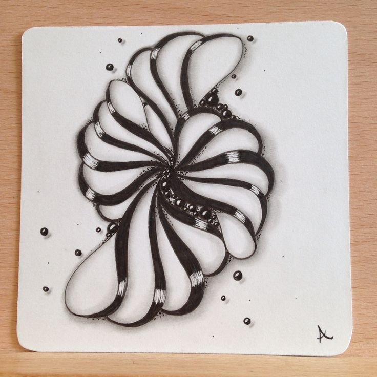 Meringue swirl