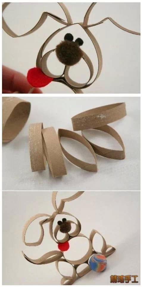 Paper Roll Pet