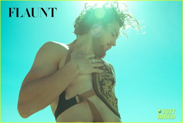 aaron taylor johnson goes shirtless bares butt for 40 photo flaunt spread 02 Aaron Taylor-Johnson flies through the air and sprays paint all over three women on the cover of Flaunt Magazine's Summer Camp issue.    The 25-year-old Avengers:…