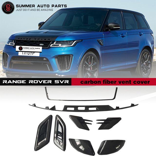 Range Rover Svr Carbon Fiber Vent Cover Range Rover Svr Range Rover Car Accessories