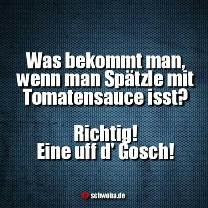 #spätzle #tomatensauce #nogo #uffd #gosch #schwäbisch #schwaben #schwoba #württemberg