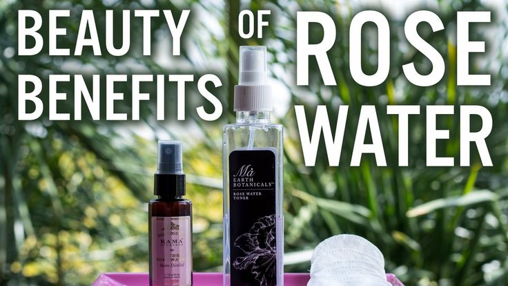 Today's video is about three different ways to use our favourite rose water for skin, hair, and overall well being!