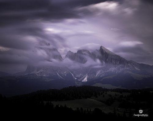After the Sunset - Val Gardena - Dolomiti / Dolomites - Italy