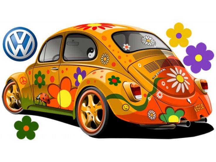 Colorful Abstract Flowers Gallery Vector Hippie Vw Beetle Free Colorful  Abstract Layouts Abstract Paintings Abstract Designs Abstract Art Abstract  Pictures ...
