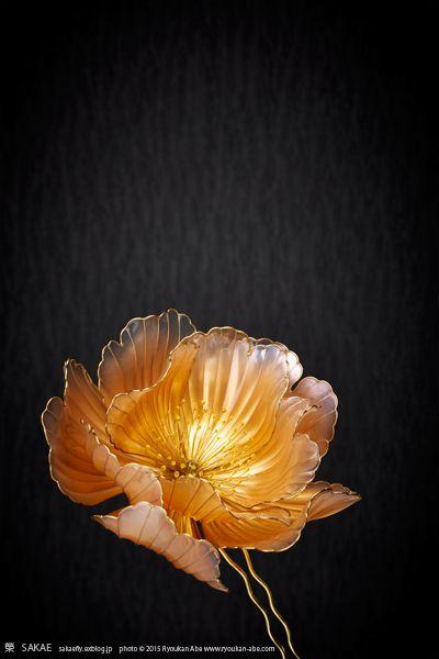 簪作家 榮 Sakae 2015年 牡丹 簪 【 富貴花 】 画像1 Beguiling Blossoms