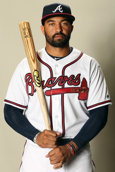 Matt Kemp Photos Photos - Matt Kemp #27 poses for a portrait during Atlanta Braves Photo Day at Champion Stadium on February 21, 2017 in Lake Buena Vista, Florida. - Atlanta Braves Photo Day