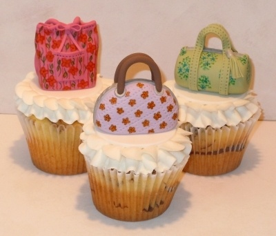 Vera Bradley Purse Cupcakes By mooj on CakeCentral.com
