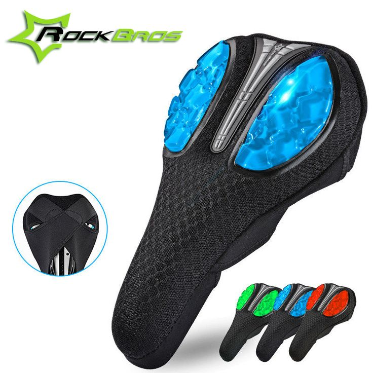Rockbros Cycling Bicycle Saddle Comfortable Cushion Soft Bike Bicycle Seat Cover for Bike Silicagel Saddle Bicycle Accessories