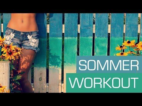 Garantiert Fit für den Sommer!! mit diesen 5 genialen Übungen - YouTube