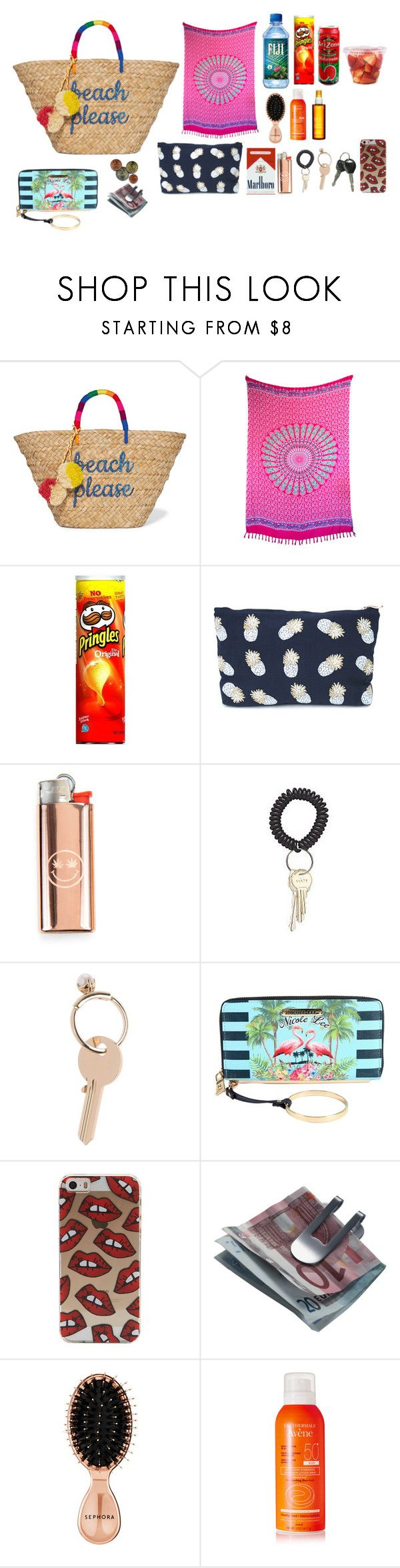 """BOLSO"" by selenaaaaaaaaaaaa8 ❤ liked on Polyvore featuring Kayu, Cultural Intrigue, Maison Margiela, Nicole Lee, Georg Jensen, Sephora Collection, Avène and Clarins"