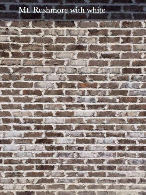 Mt Rushmore With White Brick Companies Brick Brick Images