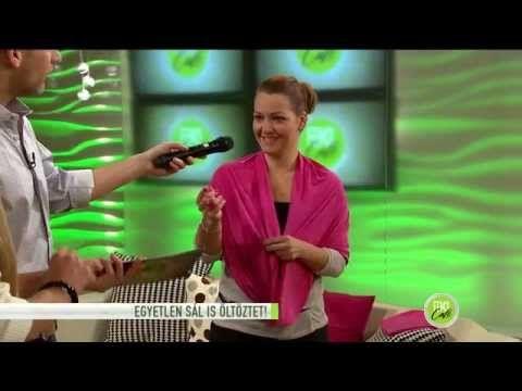 Sál, ami öltöztet - 2014.12.01. - tv2.hu/fem3cafe - YouTube