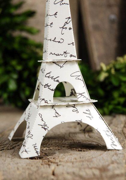 Paper Eiffel Tower 7.5 Tall
