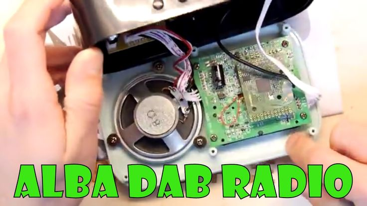 Teardown Lab - Argos Alba DAB Radio Another cheap DAB radio lets have another nose around under the hood! Seems a pretty convincing unit plenty of features and cheap what more could you want! https://youtu.be/DEYh_QunOwI
