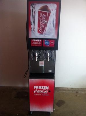 Brand New 8499 Frozen Coke Machine Commercial Must Go 300 Profits In Every Cup Coke