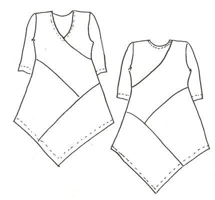 Выкройки для платьев валяние фото 112