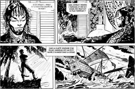 Sandokan, un récit inédit d'Hugo Pratt - Actua BD: l'actualité de la bande dessinée