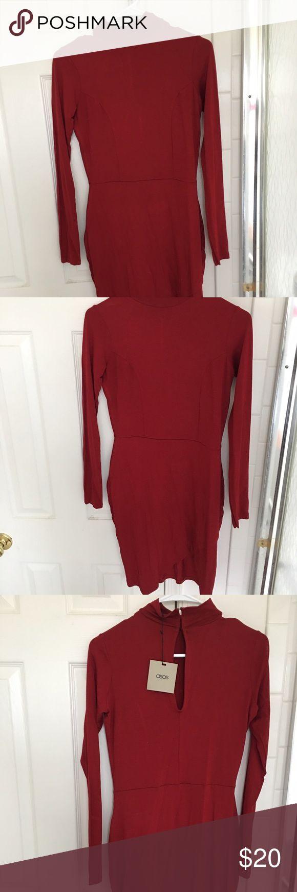 Asos red dress US size 4-6 ASOS Dresses Mini