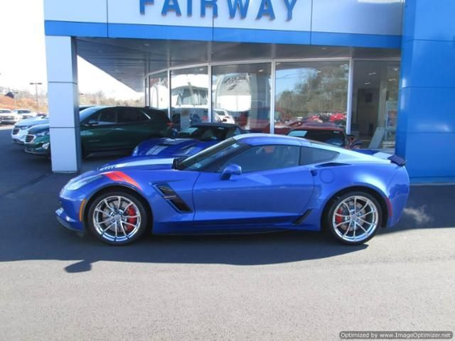 For Sale 2019 Corvette Coupe 8 Speed Automatic Elkhart Lake Blue