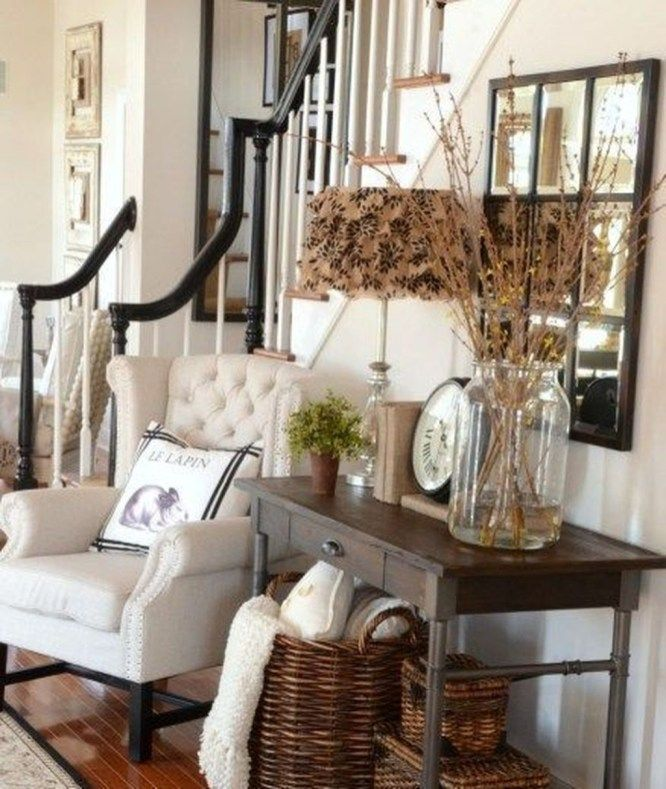 48 cool farmhouse living room decoration ideas farm house rh pinterest com