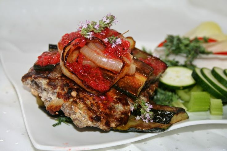 Godt og Sunt: Karbonade - Hamburger med Jordbærsaus