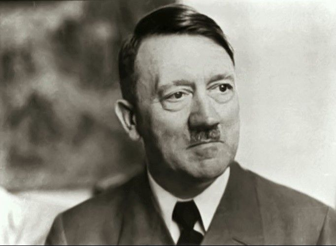 """To many, this photo just represents """"old Führer"""" in 1944. But really, it's so much more than that. Look."""