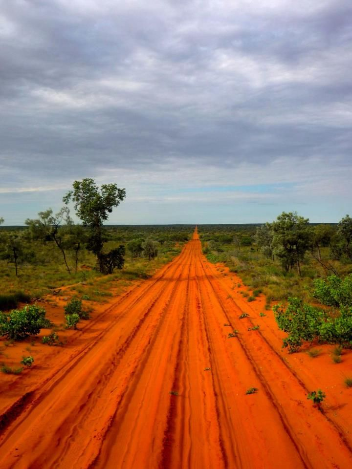 """the Red Centre, Australia"" I love red dirt country and like this softer colour sky with it"