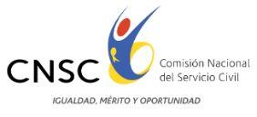 Logo de la Comisión Nacional del Servicio Civil con la leyenda Igualdad, Mérito, Oportunidad. Haga clic para ir al inicio