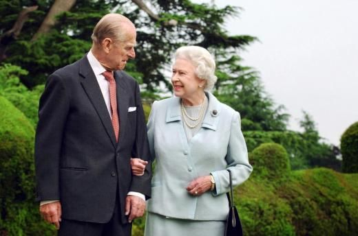 Queen Elizabeth and Prince Philip  will celebrate their Platinum Wedding Anniversary in 2017 -   70 Years!
