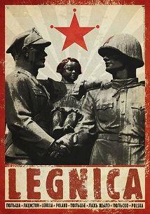 Ryszard Kaja - Legnica, plakat z serii Polska, Ryszard Kaja