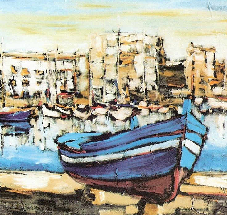 Franco Bracciante, La barca blu