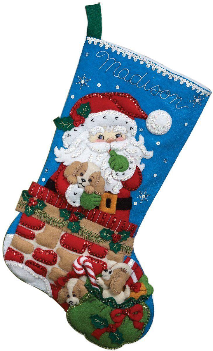 Christmas Neoteric Design Bucilla Christmas Stockings Finished Australia 2013 Already Mad Felt Christmas Stockings Christmas Stocking Kits Christmas Stockings