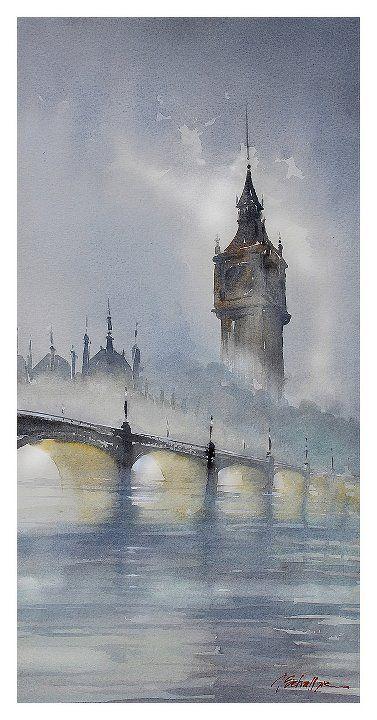 """London Fog"" by Thomas W Schaller."