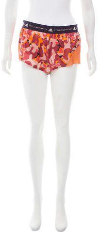 adidas by Stella McCartney Camouflage Athletic Shorts w/ Tags