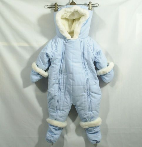c306452c1284 Snow Suit Bunting Boy s The Children s Place Baby Blue 3-6 Months ...